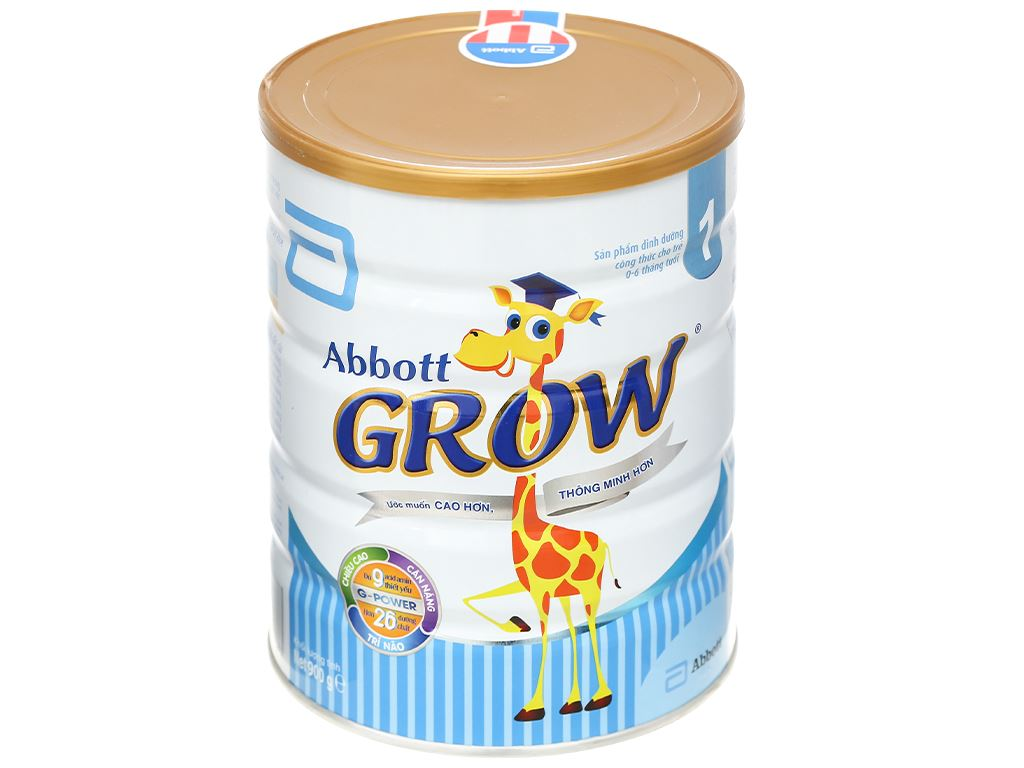 Sữa bột Abbott Grow 1 lon 900g (0 - 6 tháng) 1