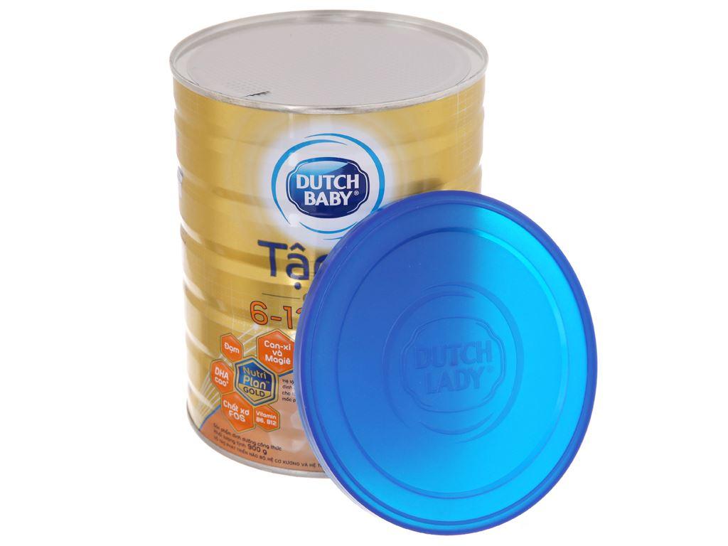 Sữa bột Dutch Baby Gold Tập Đi lon 900g (6 - 12 tháng) 5