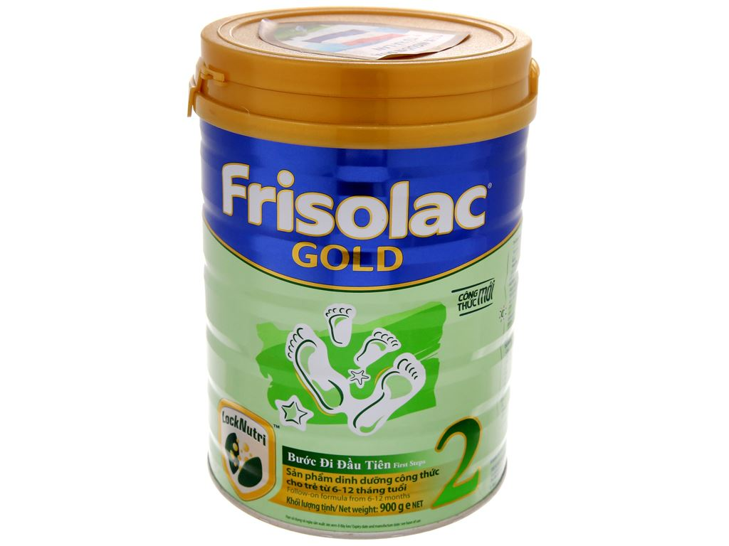 Sữa bột Frisolac Gold 2 lon 900g (6 - 12 tháng) 2