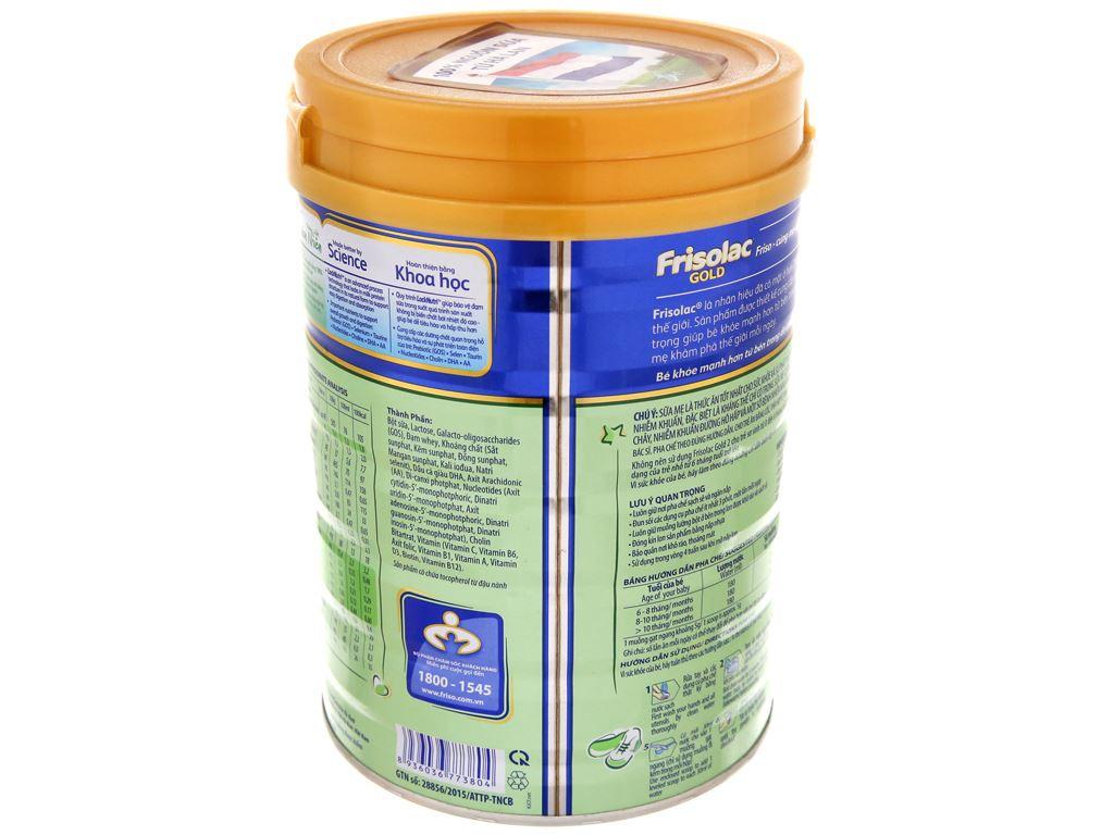 Sữa bột Frisolac Gold 2 lon 900g (6 - 12 tháng) 4