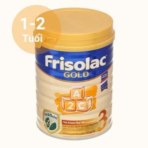Sữa bột Frisolac Gold 3 lon 900g (1 - 2 tuổi)