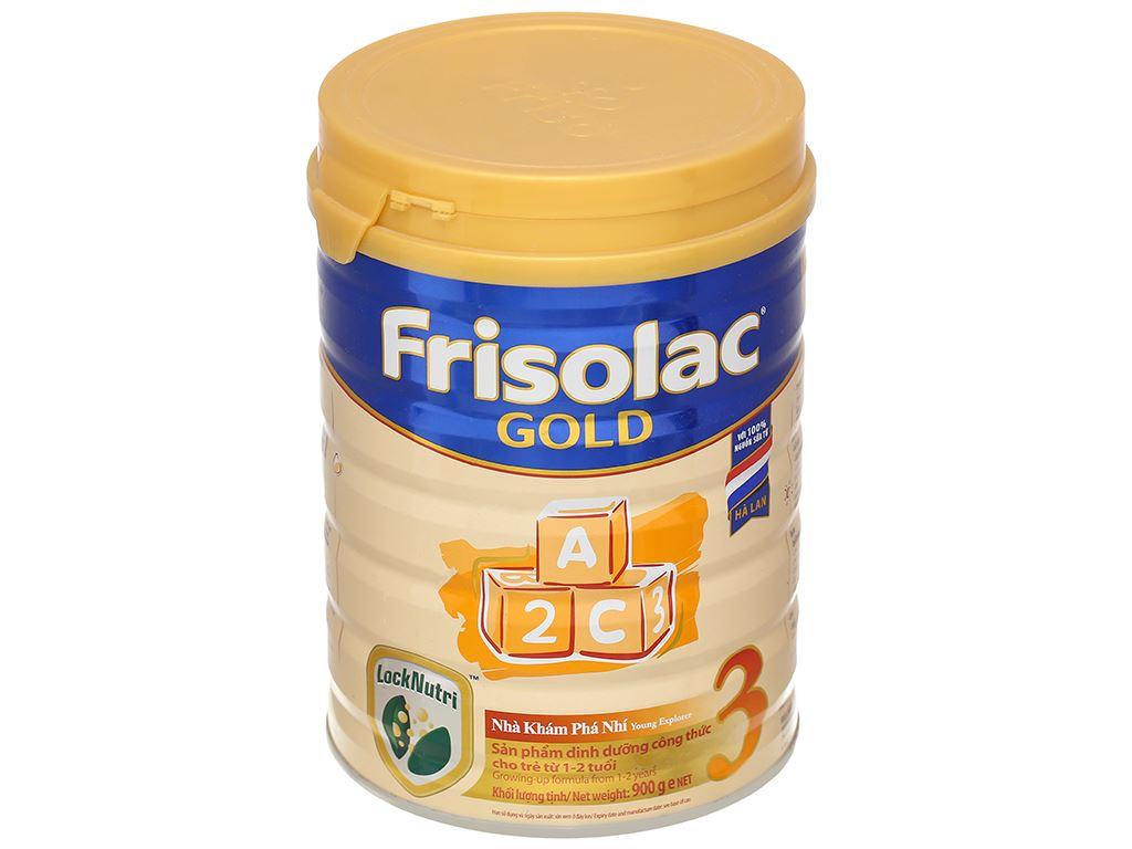 Sữa bột Frisolac Gold 3 lon 900g (1 - 2 tuổi) 1