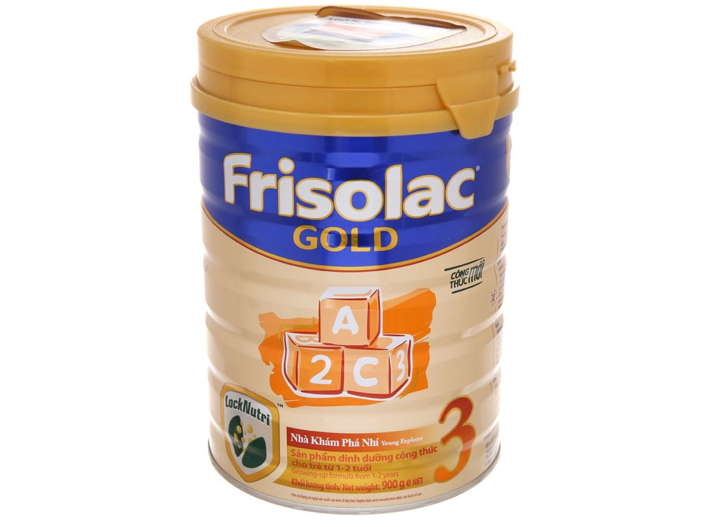 Sữa bột Frisolac Gold 3 lon 900g (1 - 2 tuổi) 2