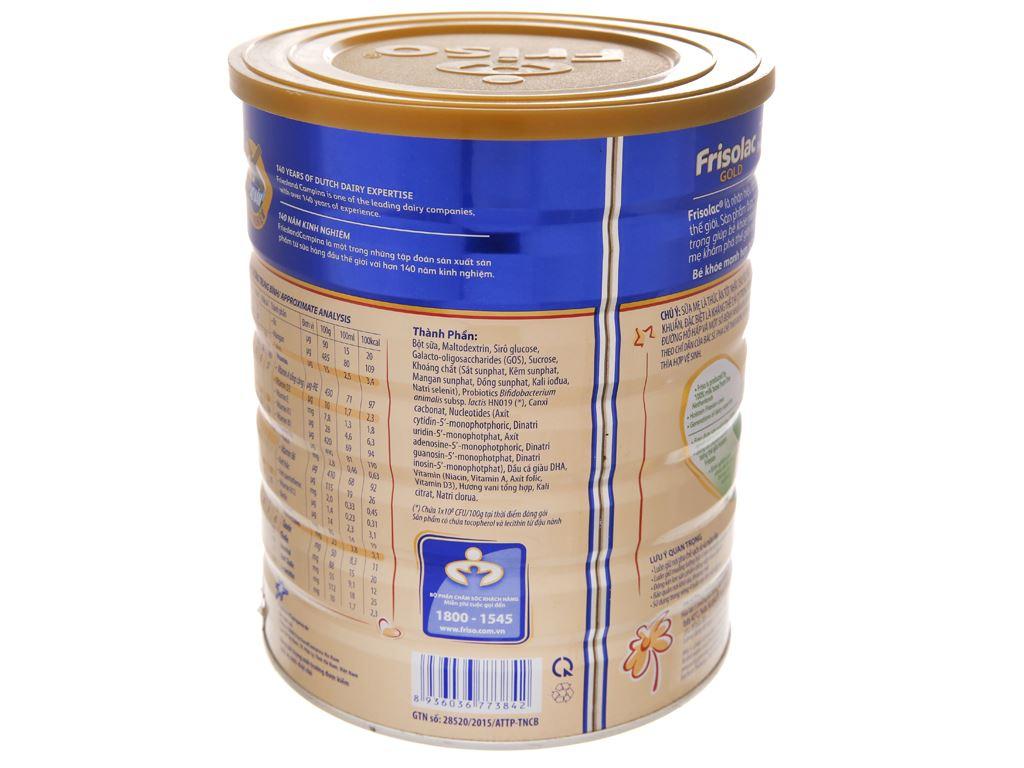 Sữa bột Frisolac Gold 3 vani lon 1.5kg (1 - 2 tuổi) 3
