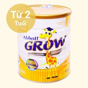 Sữa bột Abbott Grow 4 lon 900g (trên 2 tuổi)