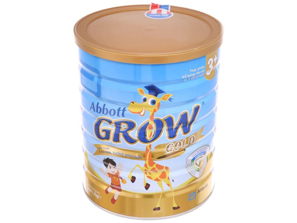 Sữa bột Abbott Grow Grow Gold 3+ hương vani lon 1.7kg (3 - 6 tuổi) 2