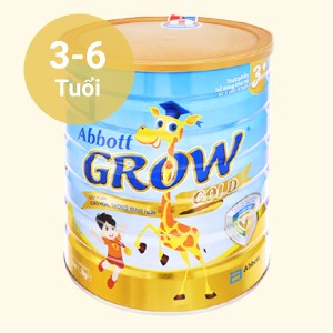 Sữa bột Abbott Grow Grow Gold 3+ hương vani lon 1.7kg (3 - 6 tuổi)