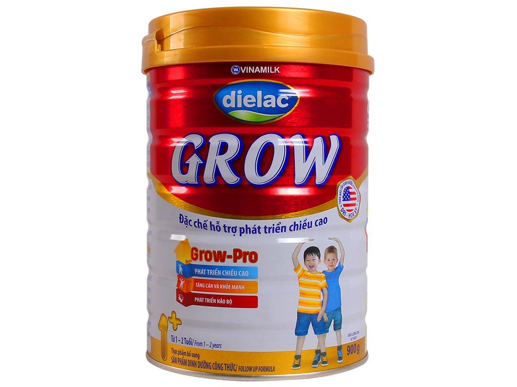 Sữa bột Dielac Grow 1+ lon 900g (1 - 2 tuổi) 1