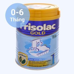 Sữa bột Frisolac Gold 1 lon 400g (0 - 6 tháng)