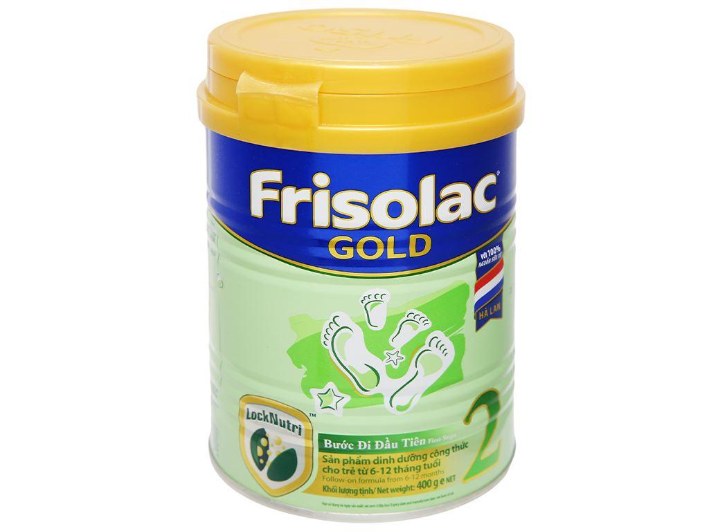 Sữa bột Frisolac Gold 2 lon 400g (6 - 12 tháng) 5