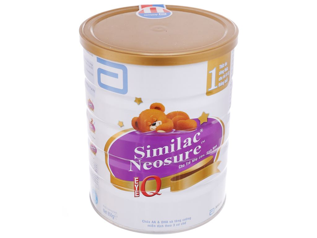 Sữa bột Abbott Similac Neosure Eye-Q 1 lon 850g (0 - 12 tháng) 2