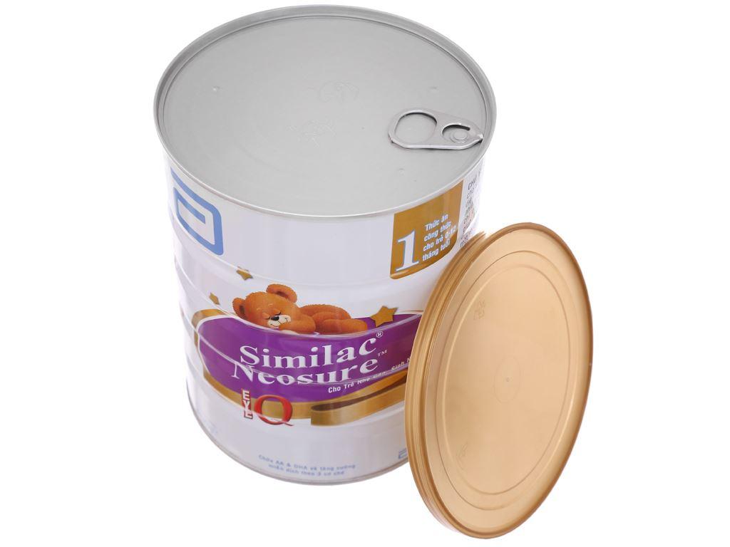 Sữa bột Abbott Similac Neosure Eye-Q 1 lon 850g (0 - 12 tháng) 5