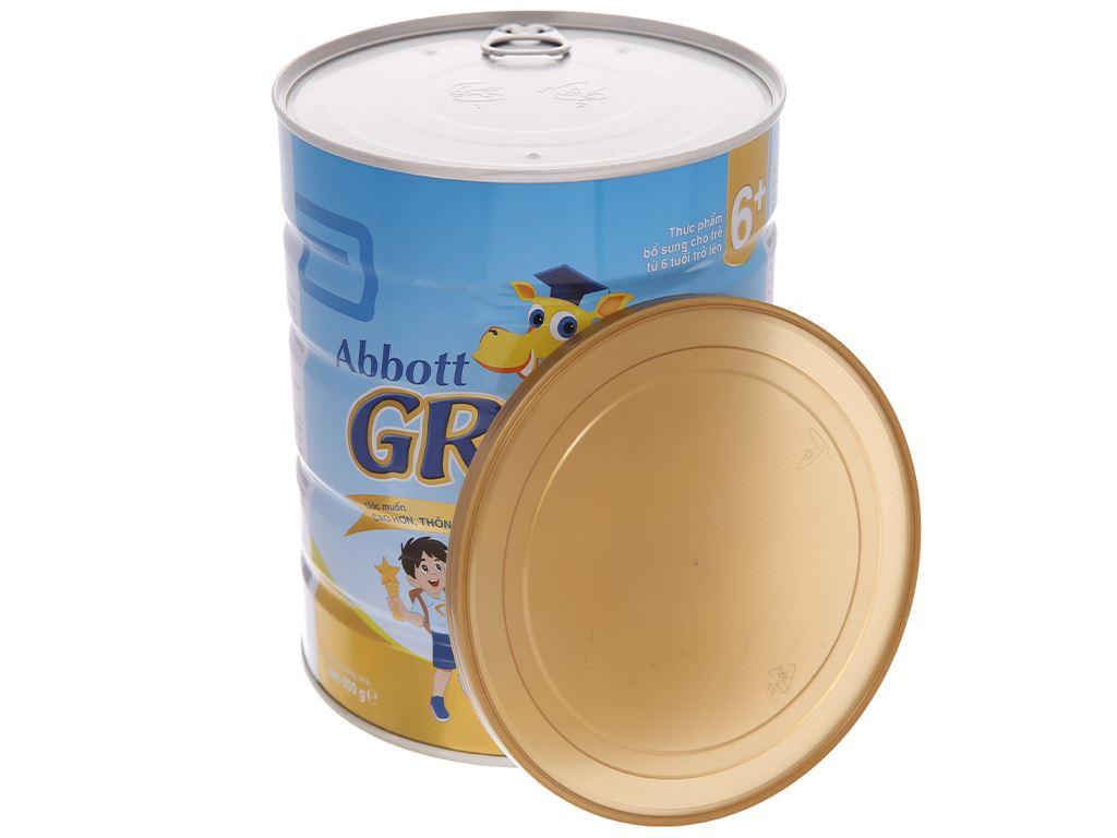 Sữa bột Abbott Grow Gold 6+ hương vani lon 900g (trên 6 tuổi) 5