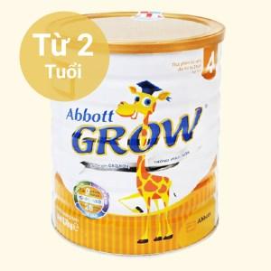 Sữa bột Abbott Grow 4 lon 1.7kg (trên 2 tuổi)