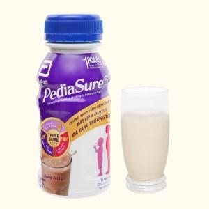Sữa bột pha sẵn Abbott PediaSure socola 237ml