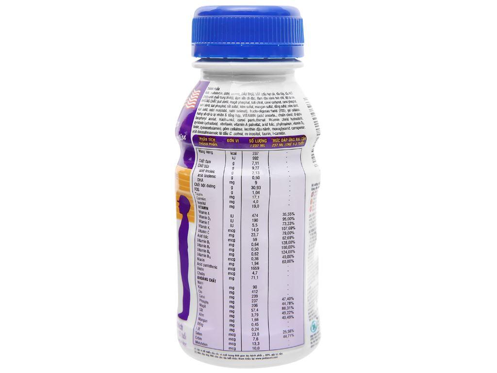 Sữa bột pha sẵn Abbott PediaSure socola 237ml 4