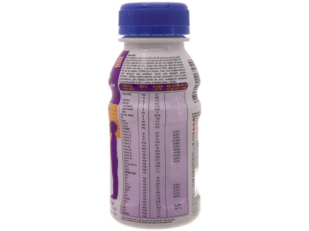 Lốc 6 chai sữa bột pha sẵn Abbott PediaSure vani chai 237ml 3
