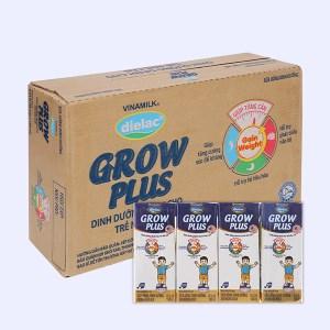 Thùng 48 hộp sữa uống dinh dưỡng Dielac Grow Plus hộp 180ml