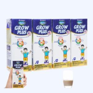 Lốc 4 hộp sữa uống dinh dưỡng Dielac Grow Plus hộp 180ml