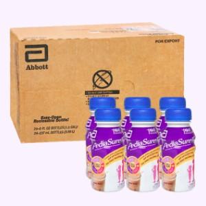 Thùng 24 chai sữa bột pha sẵn Abbott PediaSure socola chai 237ml