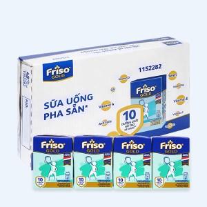 Thùng 48 hộp sữa uống dinh dưỡng Friso Gold vani hộp 110ml