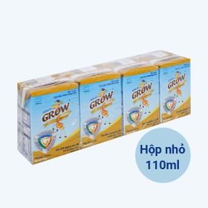 Lốc 4 hộp sữa dinh dưỡng pha sẵn Abbott Grow Advance vani hộp 110ml