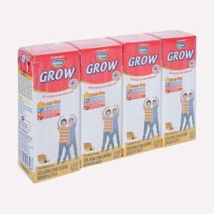 Lốc 4 hộp sữa uống dinh dưỡng Dielac Grow hộp 180ml