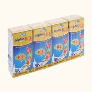 Lốc 4 hộp sữa uống dinh dưỡng Dielac Dielac Alpha Gold hộp 180ml