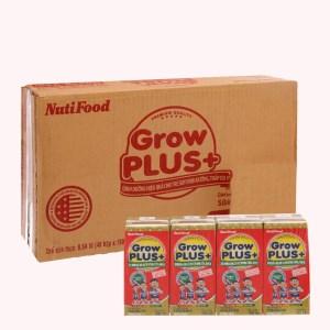 Thùng 48 hộp sữa dinh dưỡng pha sẵn NutiFood Grow Plus+ vani hộp 180ml