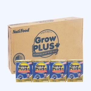 Thùng 48 hộp sữa dinh dưỡng pha sẵn NutiFood Grow Plus+ hộp 110ml