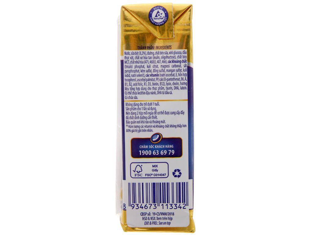 Thùng 48 hộp sữa bột pha sẵn Dielac Alpha Gold hộp 180ml 5