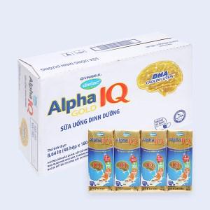 Thùng 48 hộp sữa bột pha sẵn Dielac Alpha Gold hộp 180ml