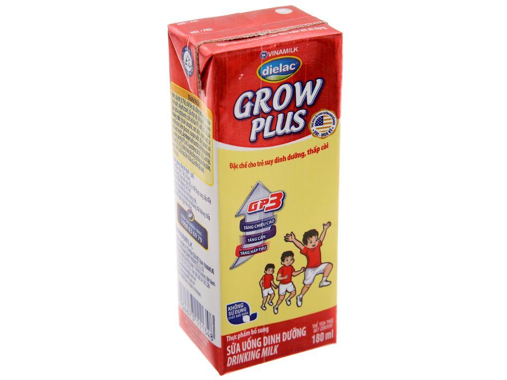 Thùng 48 hộp sữa uống dinh dưỡng Dielac Grow Plus 180ml (cho trẻ thấp còi) 3