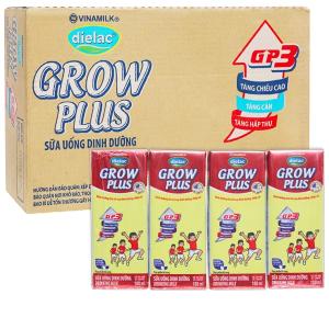 Thùng 48 hộp sữa uống dinh dưỡng Dielac Grow Plus 180ml (cho trẻ thấp còi)