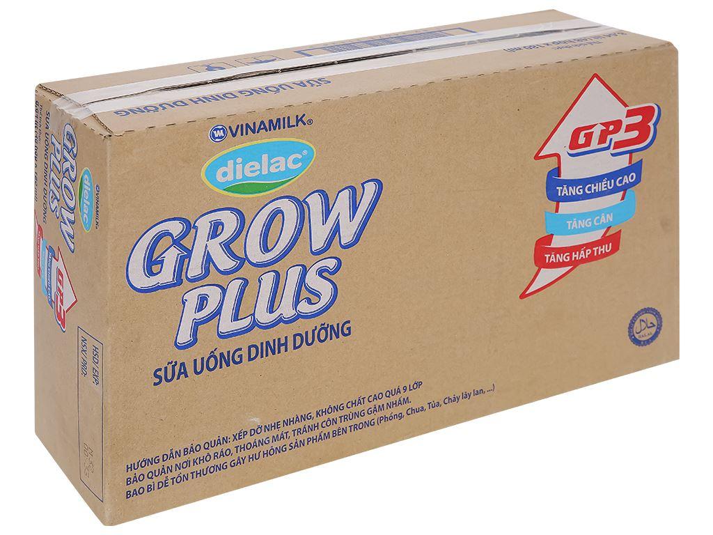 Thùng 48 hộp sữa uống dinh dưỡng Dielac Grow Plus 180ml (cho trẻ thấp còi) 1