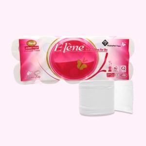 10 cuộn giấy vệ sinh Elène hồng 3 lớp