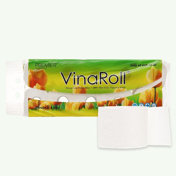 10 cuộn giấy vệ sinh PREMIER 3 lớp