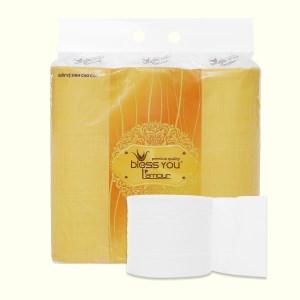 9 cuộn giấy vệ sinh Bless You L'amour 3 lớp (10cm x 12cm)