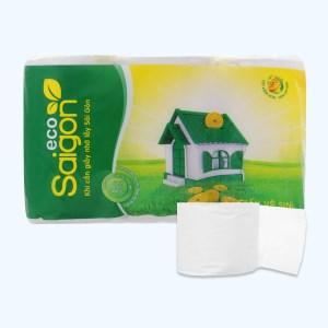 12 cuộn giấy vệ sinh Saigon Eco 2 lớp