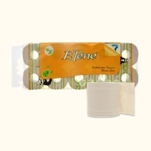 10 cuộn giấy vệ sinh tre Elène 3 lớp