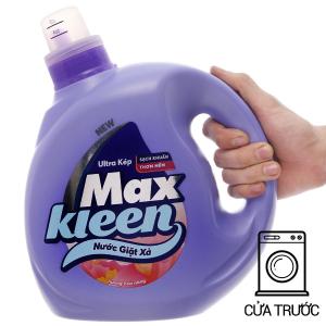Nước giặt xả MaxKleen hương hoa nắng chai 2.4kg