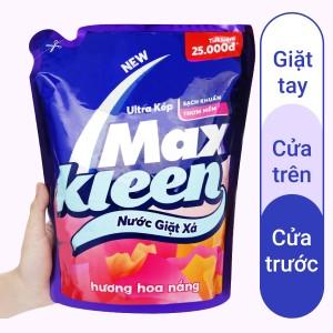 Nước giặt xả MaxKleen hương hoa nắng túi 2.4kg