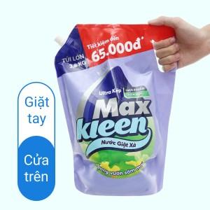Nước giặt xả MaxKleen ultra kép hương vườn sớm mai 3.8kg