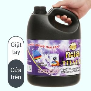 Nước giặt xả Thale hương hoa mộc lan chai 3.5 lít