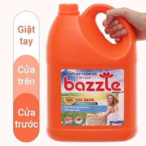 Nước giặt xả sinh học Bazzle hương quyến rũ can 2.9 lít