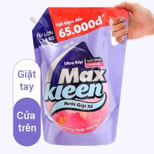 Nước giặt xả MaxKleen hương hoa nắng túi 3.8kg
