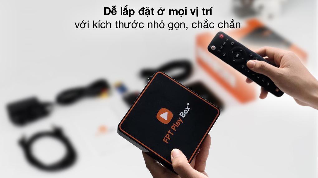 Nhỏ gọn - TV Box FPT Play Box+ T550