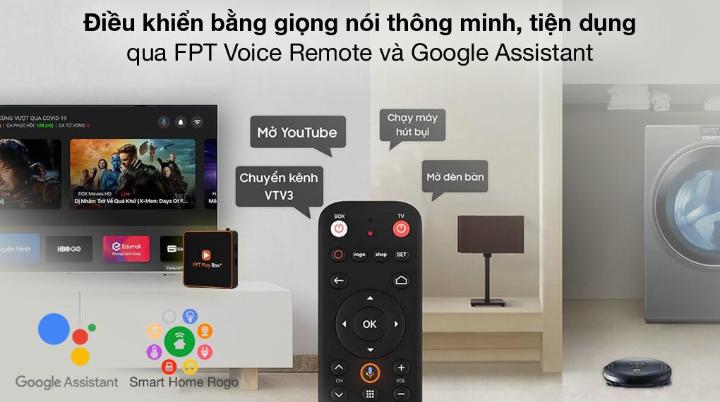 Điều khiển thông minh - TV Box FPT Play Box+ T550