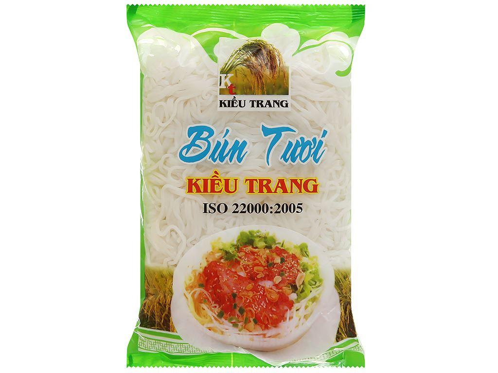 Bún tươi Kiều Trang gói 500g 1