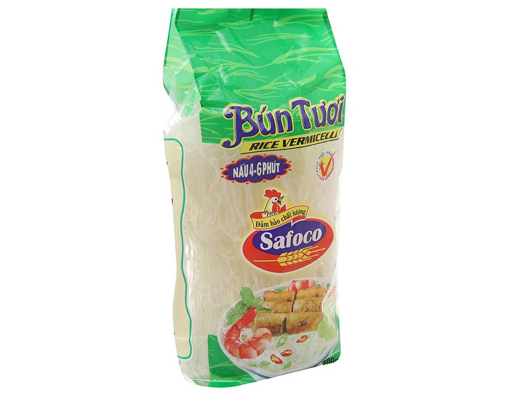 Bún tươi dạng khô Safoco gói 300g 2